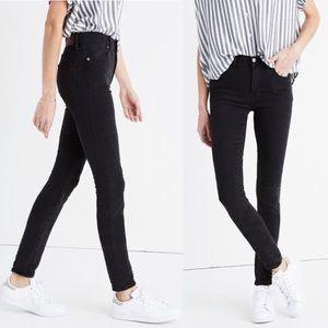 "Madewell 9"" High Riser Skinny Jeans Lunar"